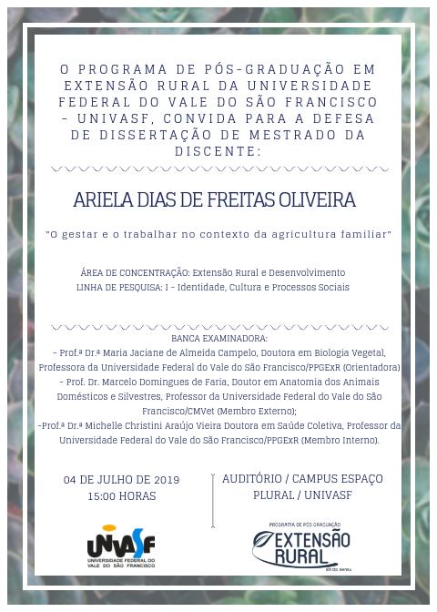 Ariela Dias de Freitas Oliveira